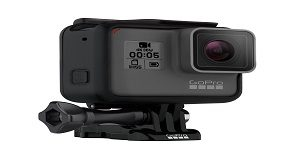GoPro Hero5 Black Action Camera, Black