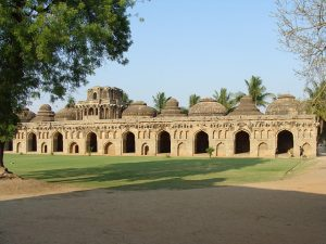 Places in India To Travel on a Low Budget-Elephant stables